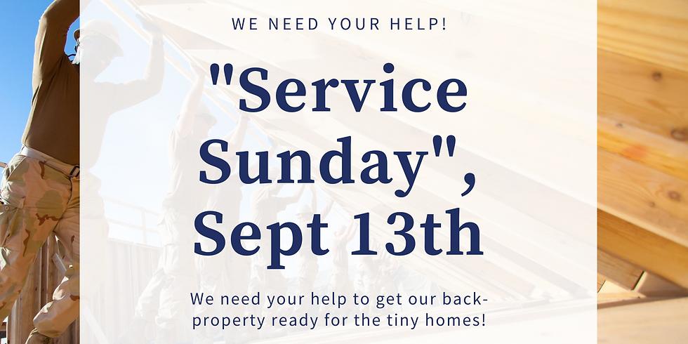 """""""Service"""" Sunday!"""