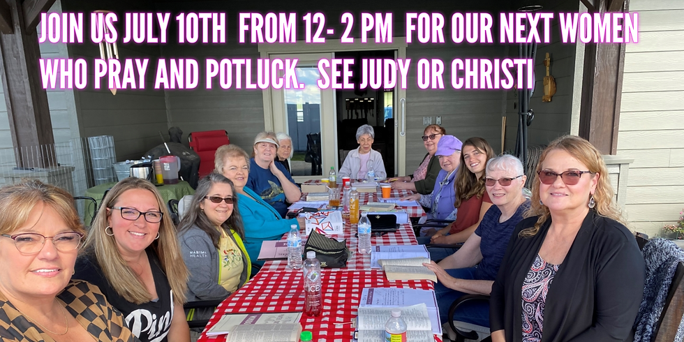Women Who Pray and Potluck
