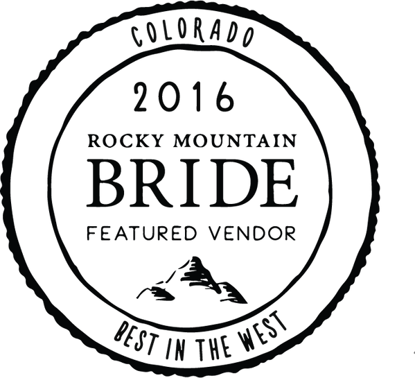 Rocky Mountain Bride Featured Vendor Seal