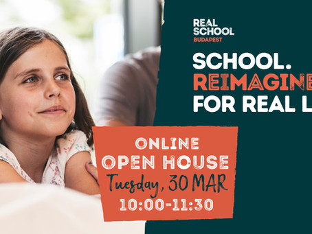 Join our online Open House on Tuesday, 30 March 2021!