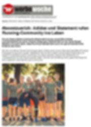 #boostzuerich- Adidas und Statement rufe