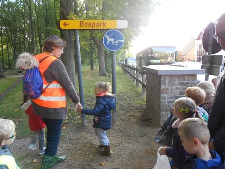 K2 naar het bospark