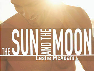 Cover Reveal - The Sun and The Moon by Leslie McAdam