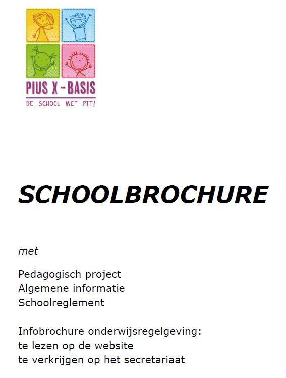 Schoolbrochure