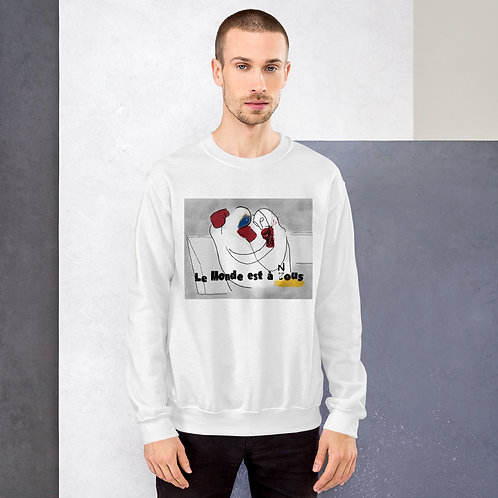 le monde est à nous (after la haine) unisex sweatshirt