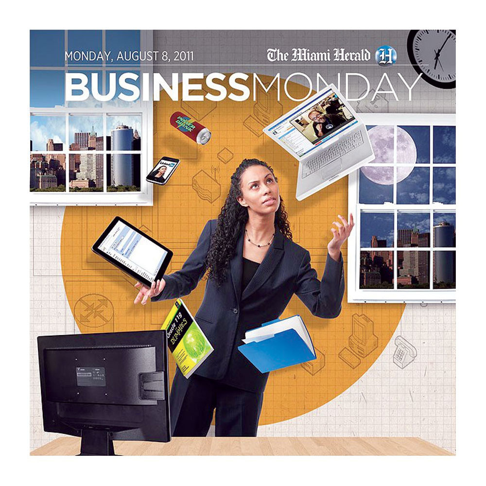 Business Monday Cover, Miami Herald