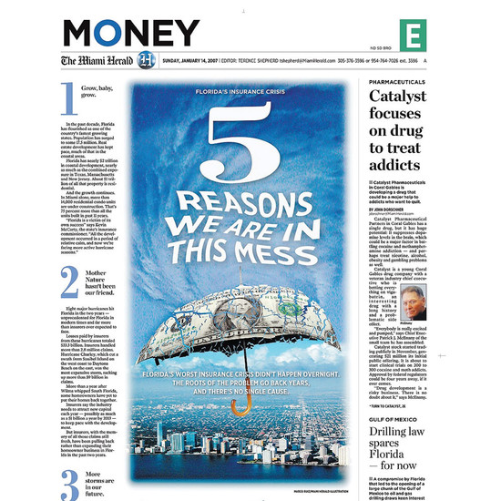 Business Section, Miami Herald
