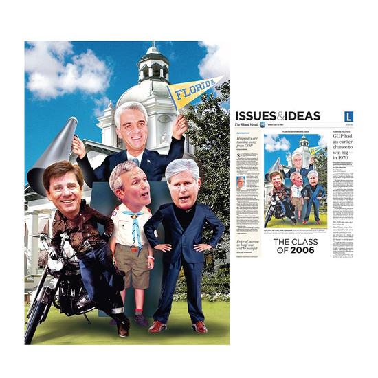 Governor candidates, Miami Herald