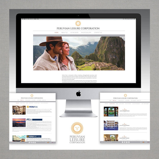 Web page design for Peruavian Leisure Corp.