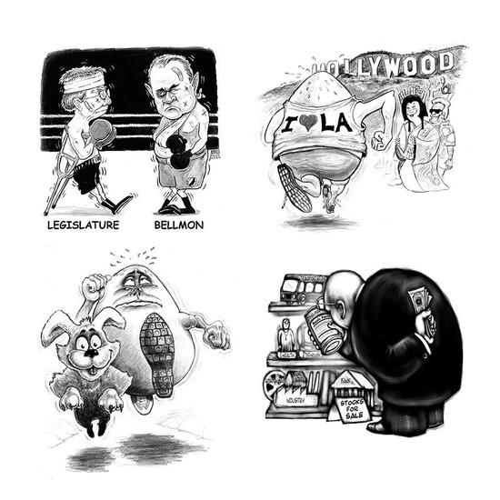 Miscellaneous cartoons