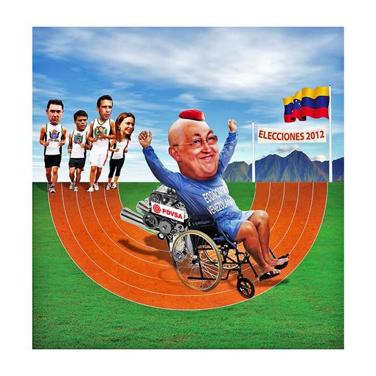Venezuelan candidate Chavez, El Nuevo He
