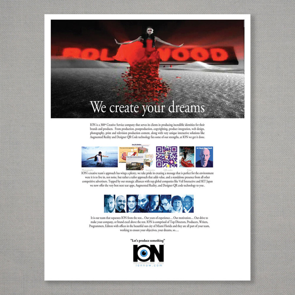 ION ad page
