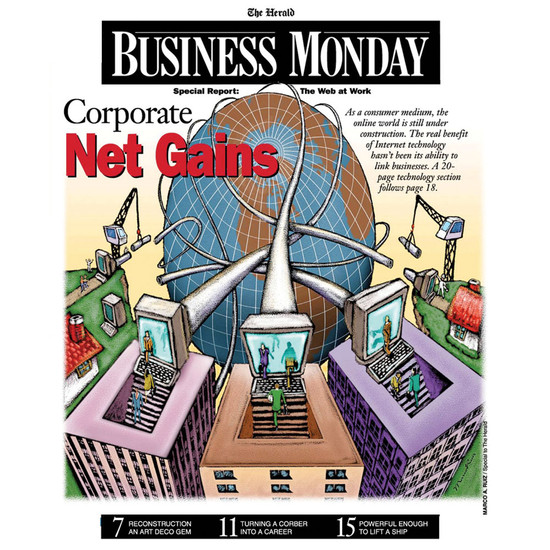 Business Monday Cover, Miami Herald