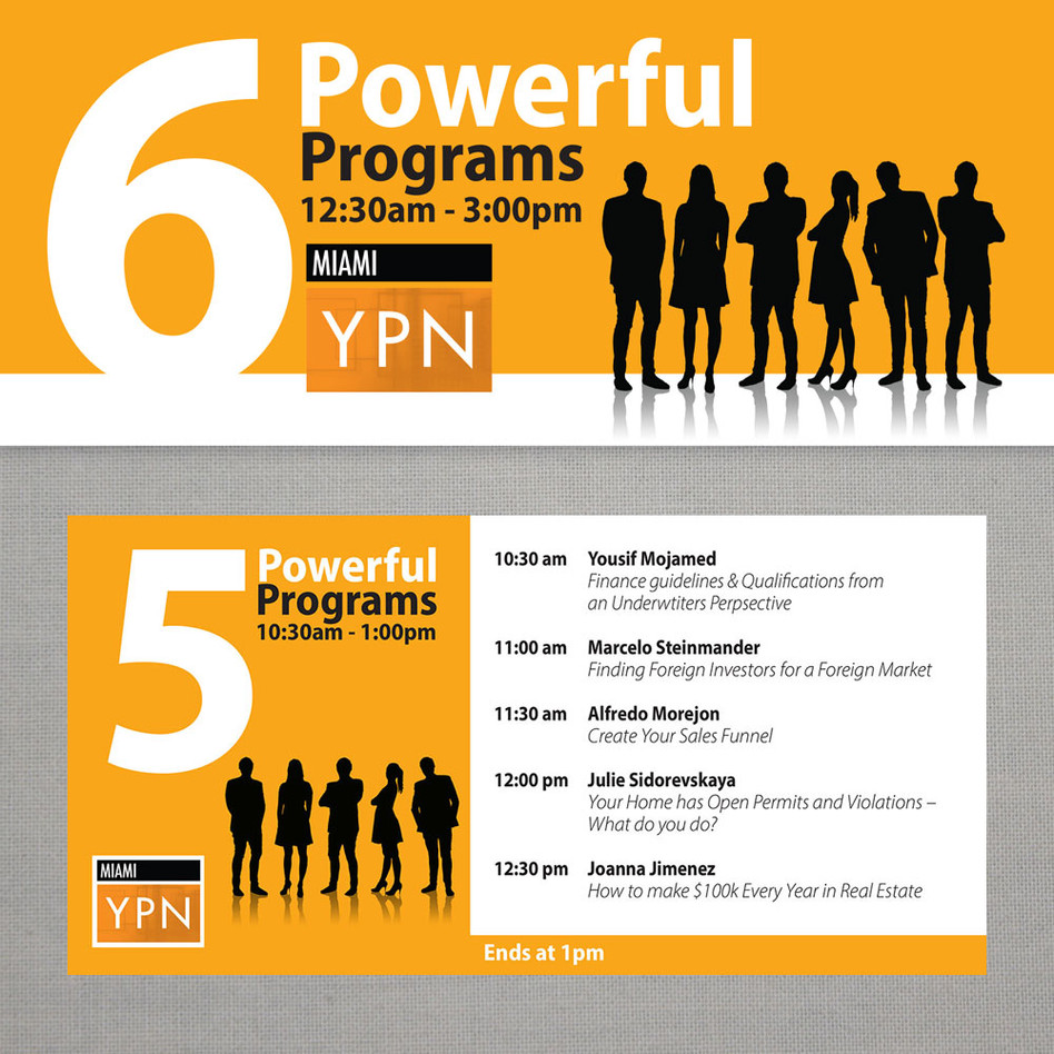 YPN event promo