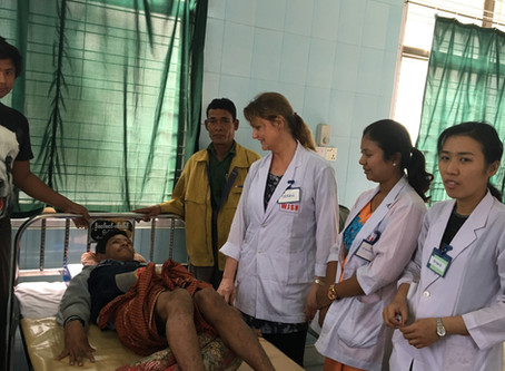 Myanmar Diary - update 4 The tally runs on....123 patients Tuesday, 94 Wednesday!