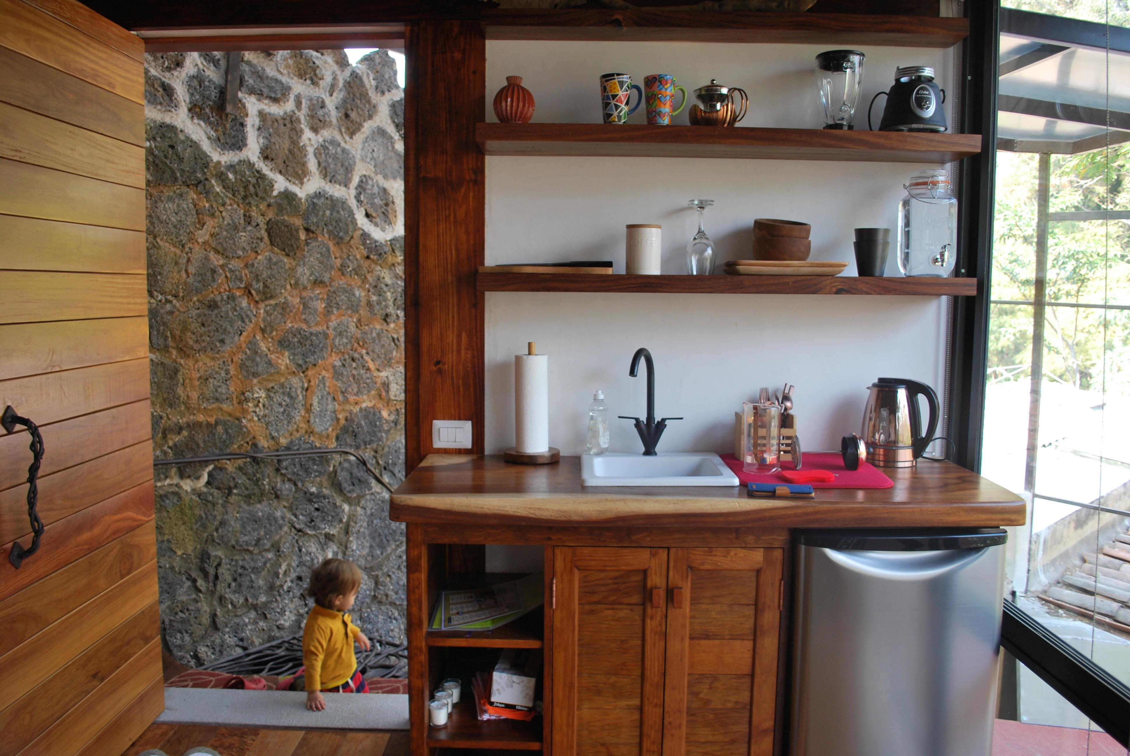 Zen Loft, Cocina