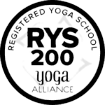 Registered Yoga School transparent logo