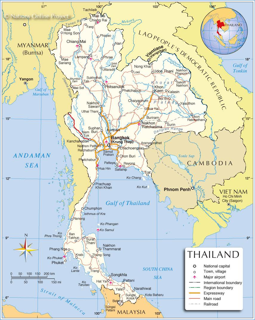thailand-political-map