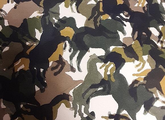 Camouflage Pferde