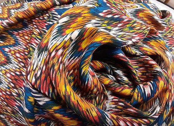 Viskosedruck multicolor