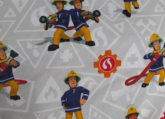 Feuerwehrmann Sam  grau/bunt
