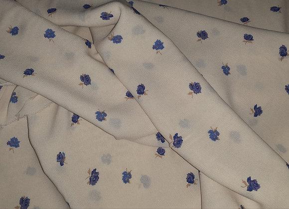 Romantische Blümchen in Blau