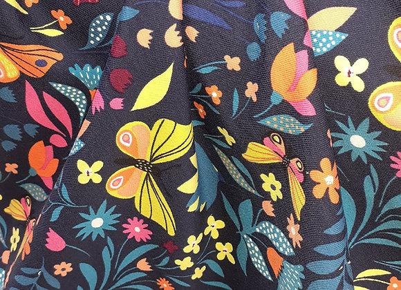 French Terry  Bumen+Schmetterlinge