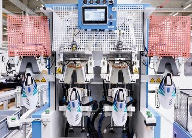 First Trainers Run Off Adidas 'SpeedFactory's' Production Line in Germany