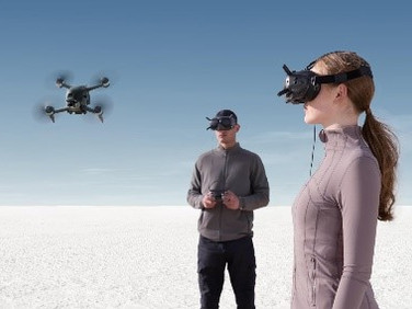 DJI's New First Person View (FPV) Drone System Brought VR to the Real World