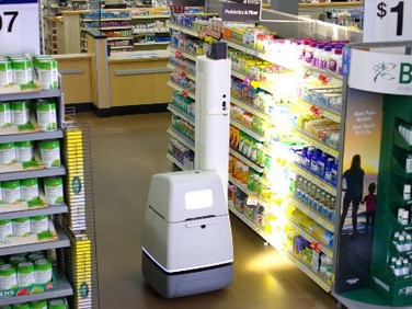 Wal-Mart is Now Using Robots to Scan Shelves for Stock Gaps in Stores