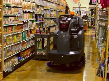 Wal-Mart Testing Autonomous Floor Scrubber Made by Brain Corporation