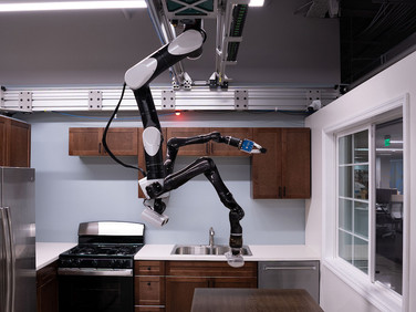 Toyota Research Institute Unveils Ceiling Mounted Home Robot Helper Concept