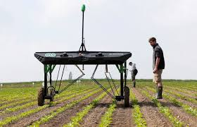 ecoRobotix Unveils Weed Fighting Robot Which Reduces Herbicide Use by 20x