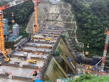 Obayashi Starts Work on Dam which will be Built Almost Entirely by Robots