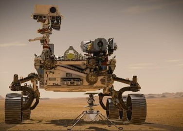 NASA Mars Rover Perseverance Has Taken a Short Drive after Touching Down