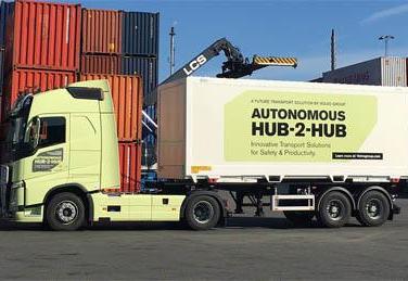 Volvo Unveils Driverless Truck Aimed at Hub-to-Hub Logistics