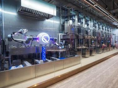 China's Country Garden Opens Worlds First Robot Restaurant Complex