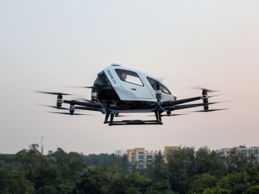 Guangzhou-Based Commercial Drone Maker EHang Files for Nasdaq IPO