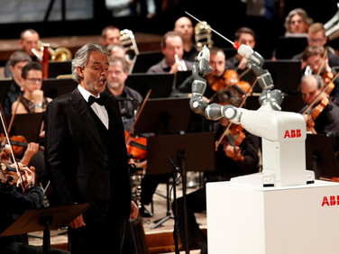 YuMi Robot Becomes the First to Conduct an Orchestra