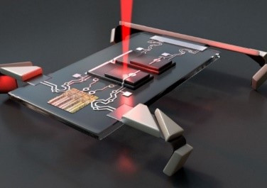 MicroRobots Capable of Movement Mass Produced for Microscopic Exploration