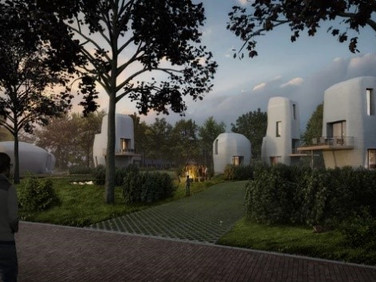 World's First 3D Printed Home Development to Be Built in the Netherlands