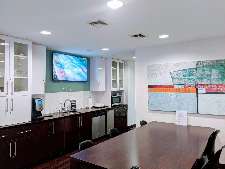 Modern Clean Waiting Room