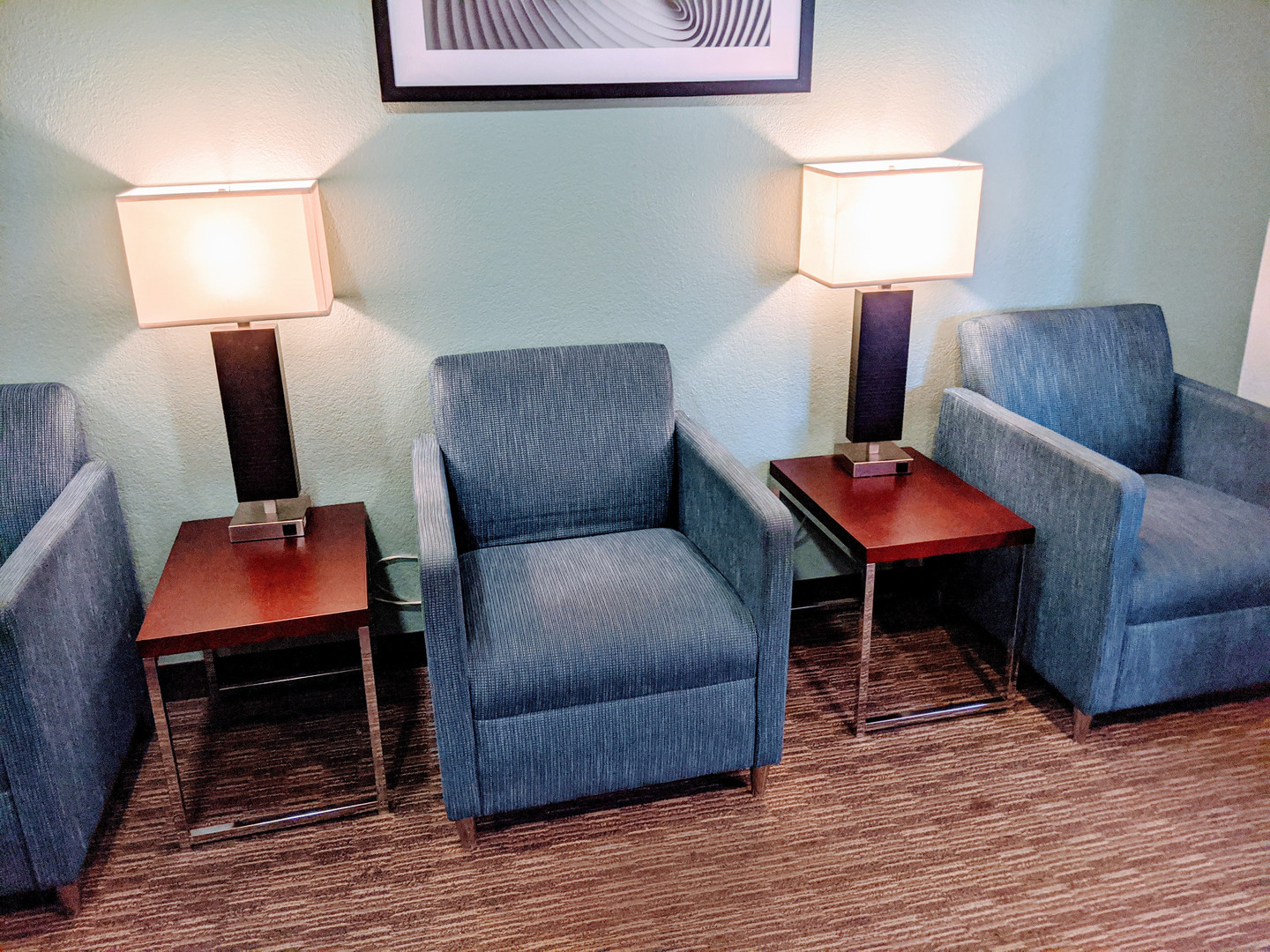 Comfortable Chairs in Waiting Room