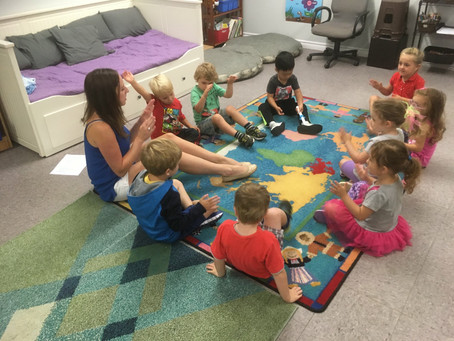 The Benefits of Early Childhood Music Part 1