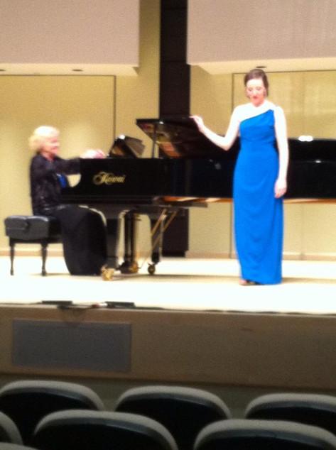 Alison's Graduation Recital, Tribute Communities Recital Hall, York University (2015)