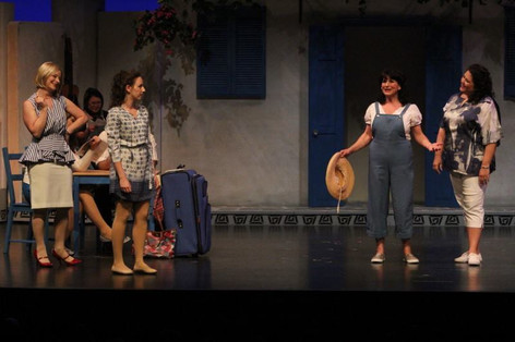Alison performing as Sophie Sheridan in the Saint John Theatre Company's production of Mamma Mia!