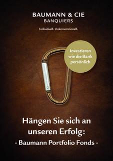 Plakat Baumann & Cie