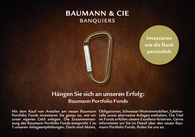 Inserat Baumann & Cie