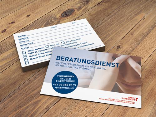 Visitenkarten Beratungsstelle