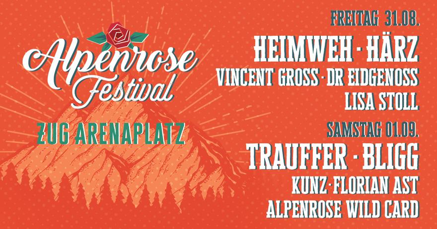 Banner Alpenrose Festival